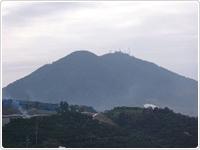 西区の金峰山